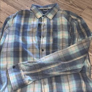shades of blue flannel